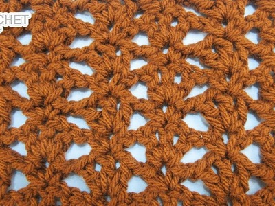 Open Shells & Picots Stitch - Calendar Blanket - June