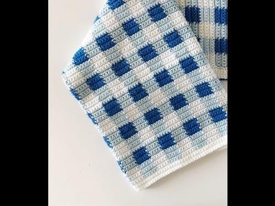 Picnic Gingham Blanket