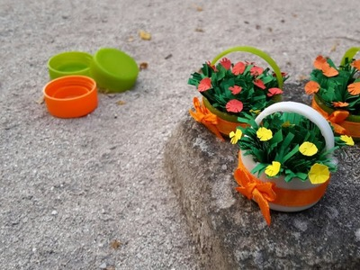See this video before throwing bottle cap.Best out of waste