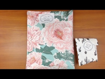 The Planner Society May 2018 unboxing and making something with it!