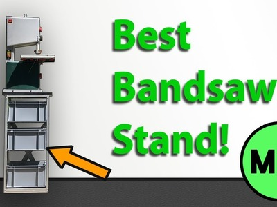 Using Aluminium Profiles for Shop Furniture! (How To Make A Bandsaw Stand)