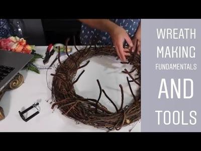 Wreath Making Fundamentals. Easy Wreath Making