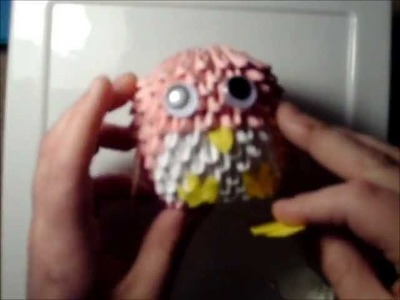 3D Origami: How to Make a Penguin