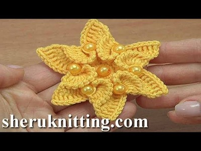 Crochet Flower Designs Instruction 193