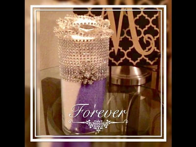 DIY Dollar Tree Elegant Candle Holders Centerpieces! Using Sand Elegance For Less With Faithlyn