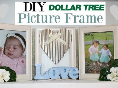 Dollar Tree Frame Idea | Farmhouse Photo Frame | DIY Photo Decor Ideas