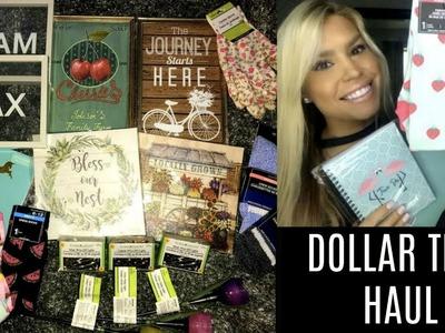 DOLLAR TREE HAUL   JUNE 2018   NEW & EXCITING ITEMS