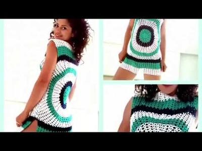 Enjoy Summer Top. Crochet tutorial