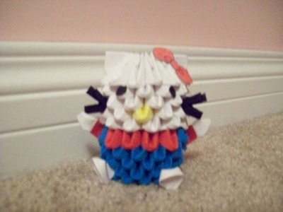 How to 3D Origami: Hello Kitty