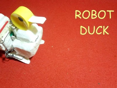 How to make a robot duck(very simple)