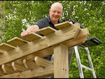How To Make An Arched Garden Arbor At Home