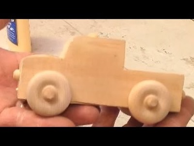 How to make toy truck