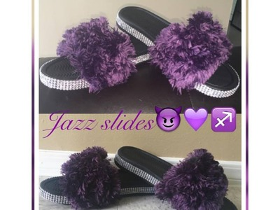 How to video on fashionable fur slides