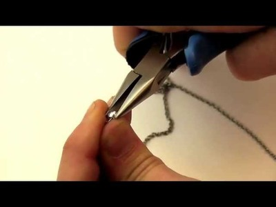 Jewelry How To - Use Jewelry Crimps Safely