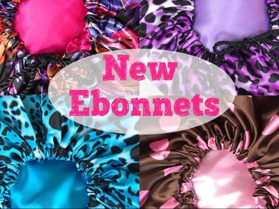 New Oversized Satin Bonnets & Scarves For Natural Hair | Ebonnets By EboniCurls