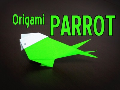 Origami - How to make a PARROT