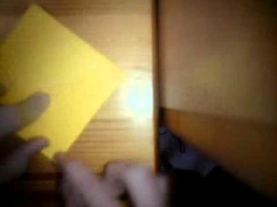 Origami instruction - the legend of zelda ~ triforce