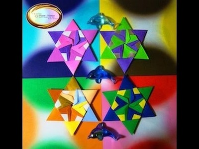 Origami Maniacs 81: 6 - Pointed Stars 3,4, and 5