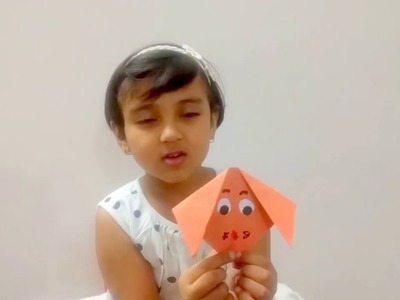 Origami Puppy.Dog for Kids - Learn Easy and Step by Step Origami for Kids under 5