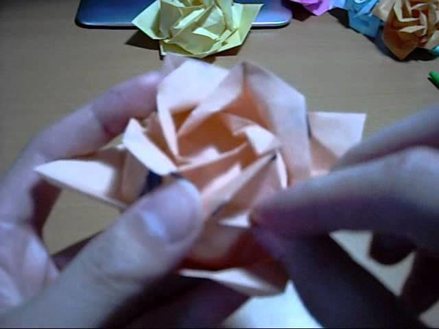 Origami Rose 3: Finishing Touches (Part 2) (Reuploaded)