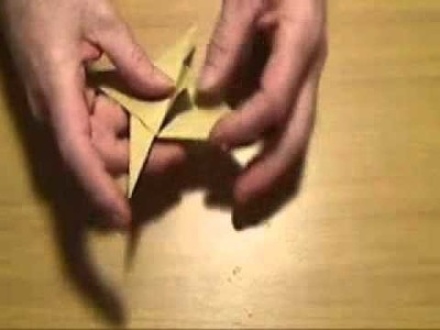 Origami WWII fighter plane part 1