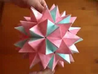 Perfectly 3d Star.One Of The Best Of Origami