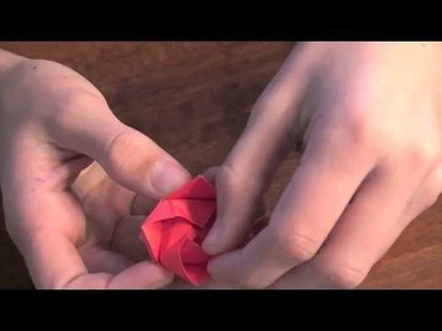 Valentines Origami: kawasaki rose (PART 2) *comprehensive*