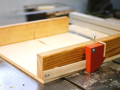 Cross Cut Sled w. Finger Joint Jig Insert