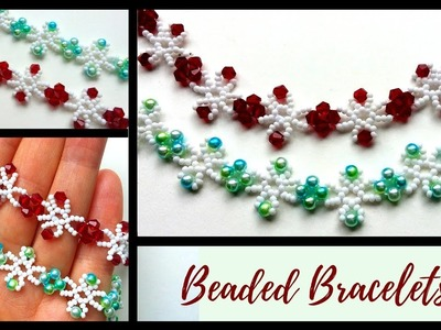 ????diy beaded bracelets ???? beautiful bracelets with pearls and crystals????