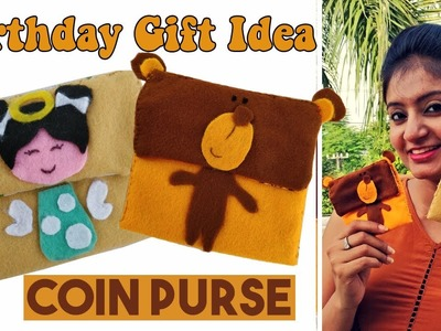 DIY Coin Purse | Birthday Gift Ideas | How to Make a Coin Purse