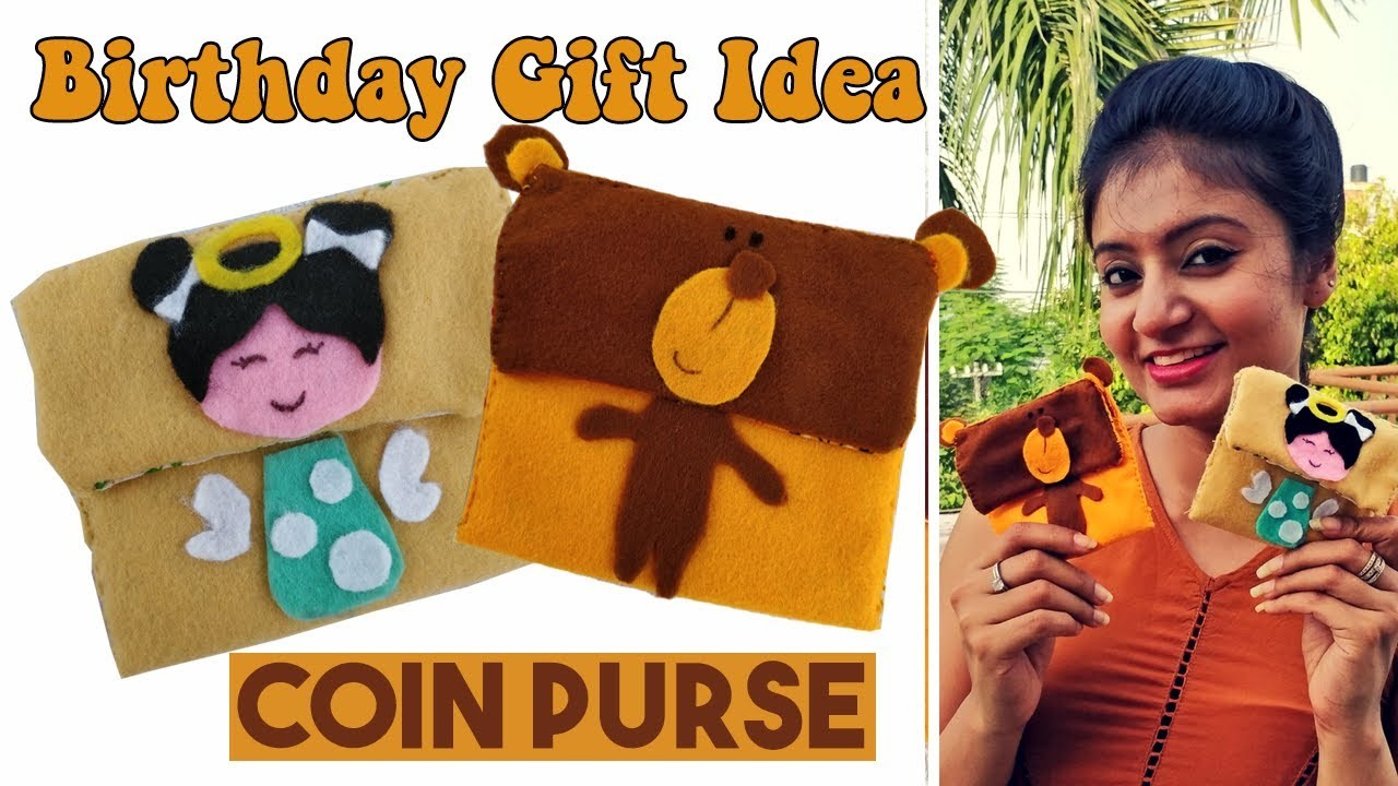 DIY Coin Purse | Birthday Gift Ideas | How to Make a Coin Purse