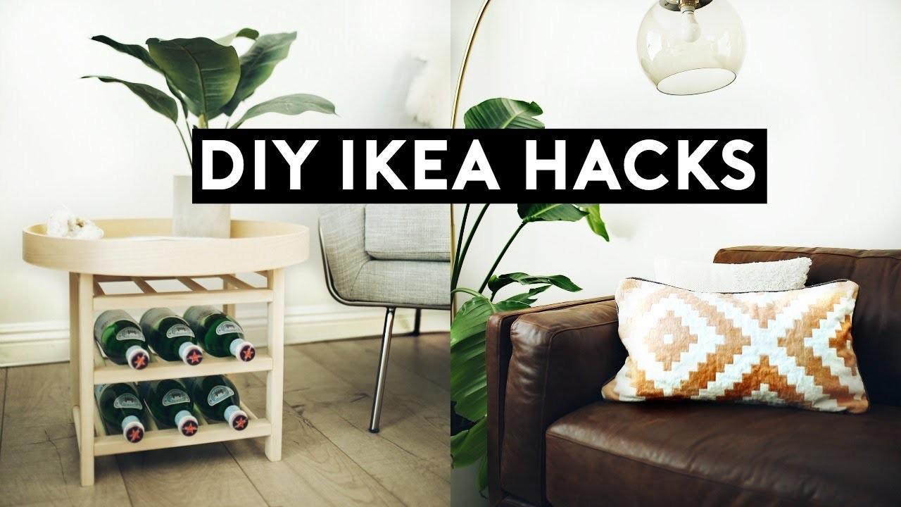DIY IKEA HACKS! DIY ROOM DECOR 2018! EASY, CHEAP & MINIMAL
