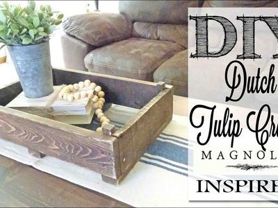 DIY Magnolia Market Inspired Dutch Tulip Crate
