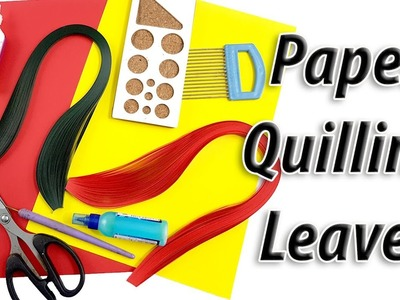 DIY Paper Quilling leaves Tutorial | How to make | 17 leaves tutorials | JK Arts 1435