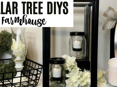 DOLLAR TREE FARMHOUSE DIYs | THREE EASY IDEAS
