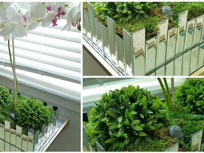 Glam Mirror Decor Ideas | DIY Mirror Planter | Best DIY Planter