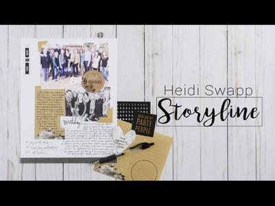 Heidi Swapp Storyline Deck of Days and Journal Kit