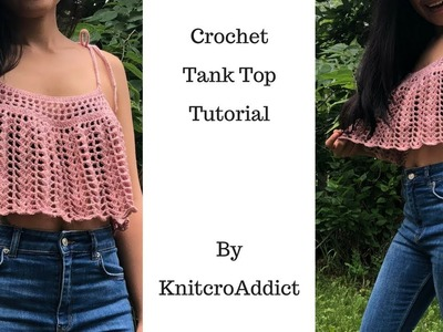 How to crochet tank top