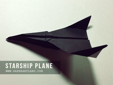 How to Make a Paper Airplane  - The Best Paper Planes | Starship