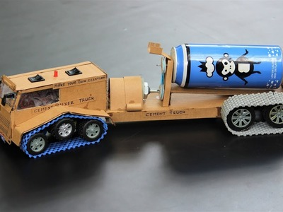 How to make a truck - cement mixer truck