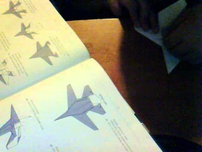 How to make an origami F-14 tomcat