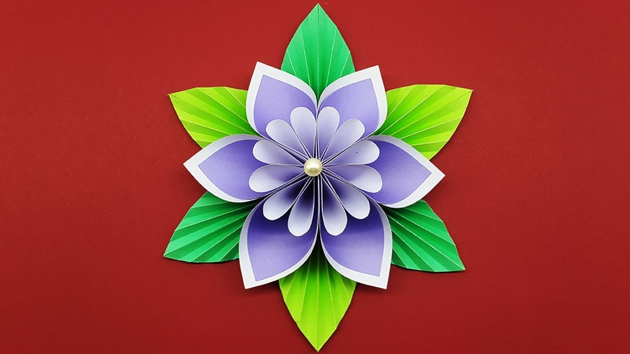 How To Make Paper Flower Easy DIY Flowers Making Tutorial