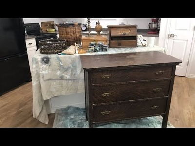 ???? How To Paint Farmhouse Thrift Store Finds