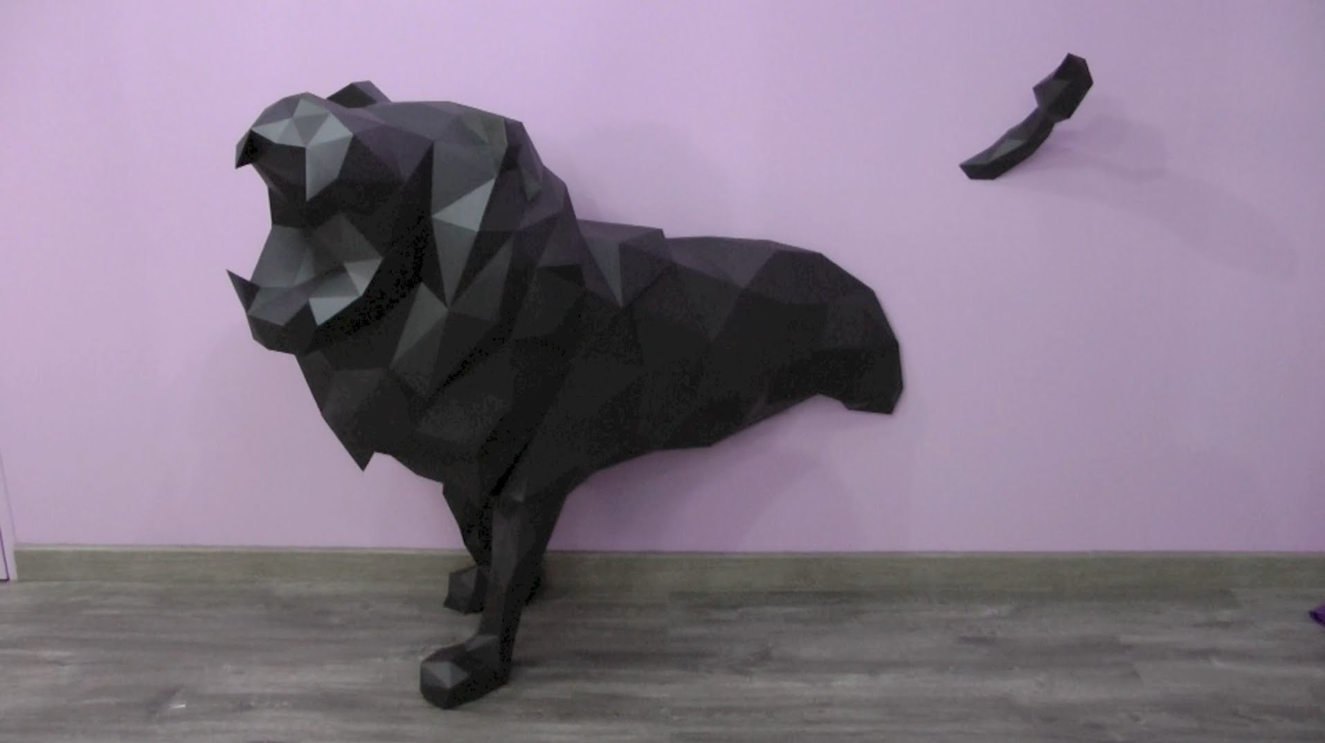 Leonyx - Making of a paper lion by DT WORKSHOP