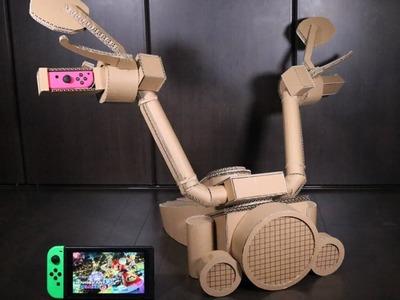 NintendoLabo!!Make a MARIO KART8 motercycle Toy-Con アメリカンバイクToy-Con作った!