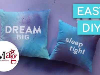 OMaG Painted Pillows | OMaG | American Girl