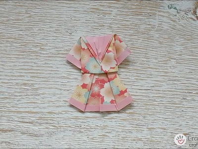 Origami | How to Fold An Origami Dress