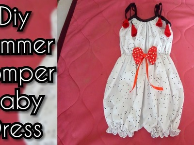 Sew a Baby girl Romper   jump suit