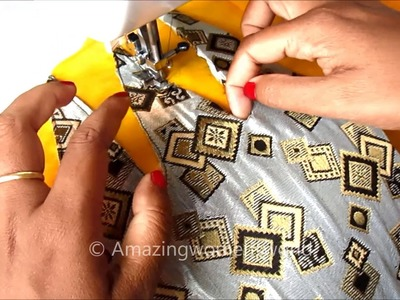Simple Kurti. Churidar Designing for Office. Daily Wear | Easy Cutting & Stitching in Hindi