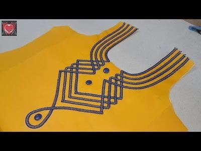Stylish Neck Designs for Kurti